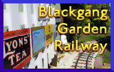 Blackgang garden light railway