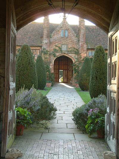 Sissinghurst Castle Gardens Front Courtyard 1
