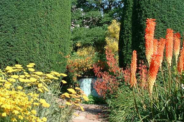 Cottage Garden And Tower