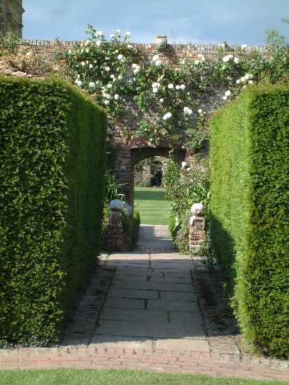 Sissinghurst Castle Gardens Rose Garden 2